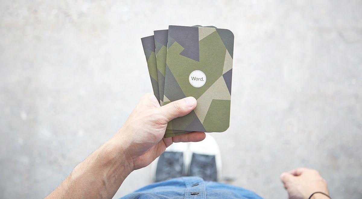 Swedish Camo 3-Pack - Muistivihko