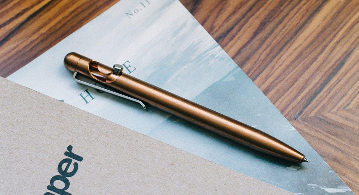 Slider & Glider Copper - Kynä
