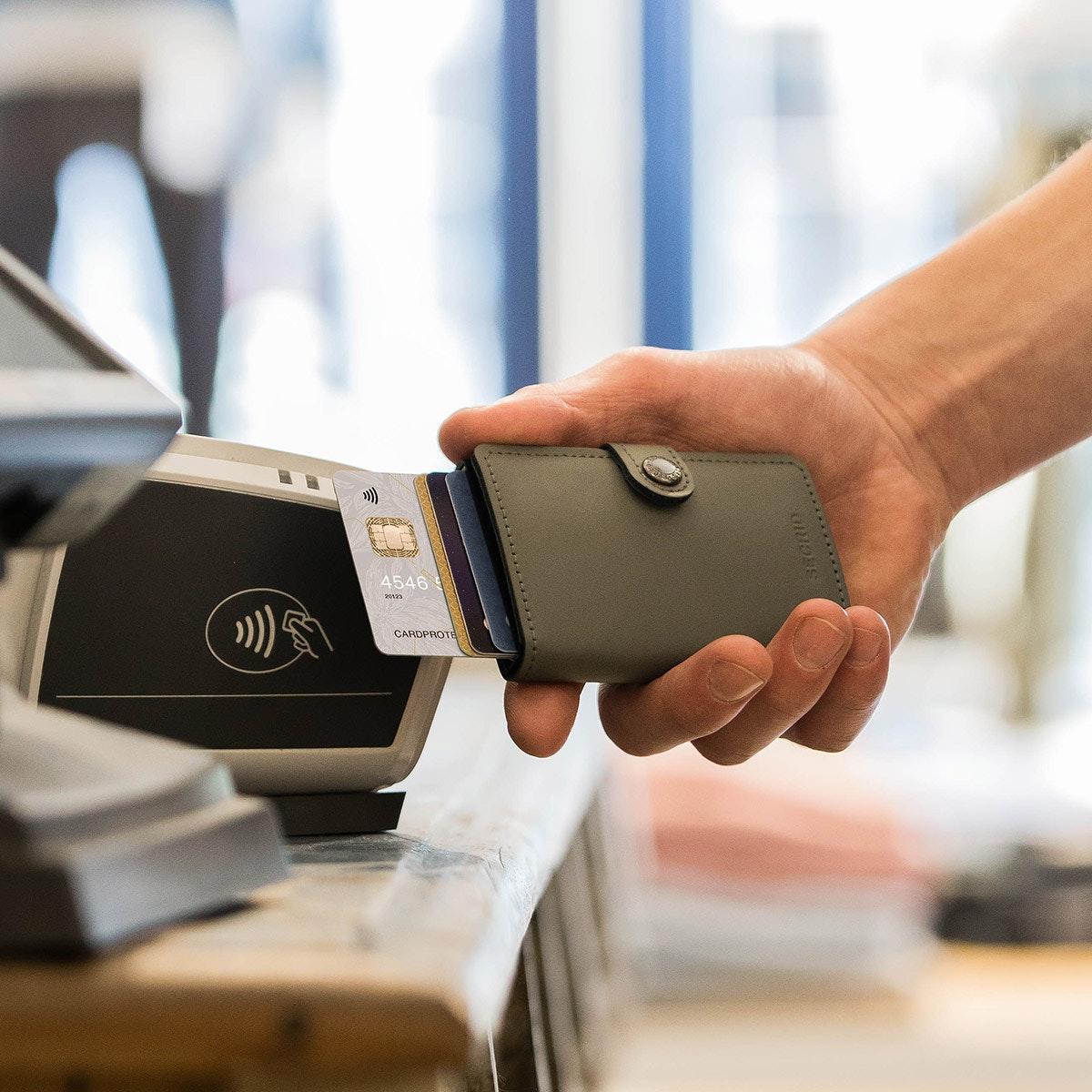 RFID-suojattu Secrid-lompakko