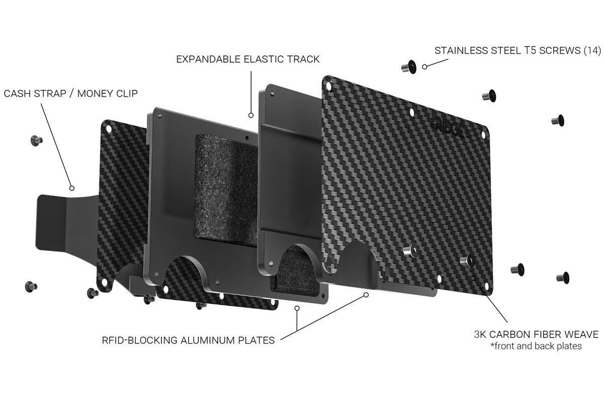 Carbon Fiber - Lompakko